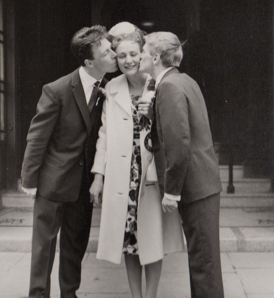 June & Les Were Married